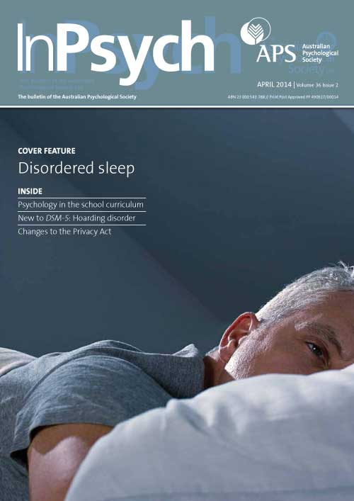Managing insomnia: What we've learnt in the last 10 years   APS