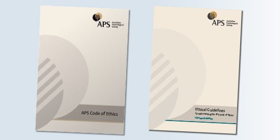 APS Members Are Required To Abide By General Principles Of The Code Of  Ethics, And The Complementary Ethical Guidelines.